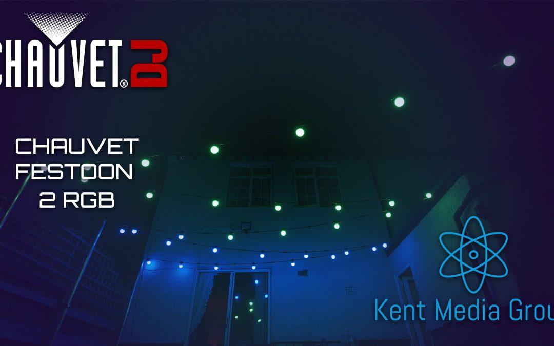 Chauvet Festoon 2 RGB- Demo / Review
